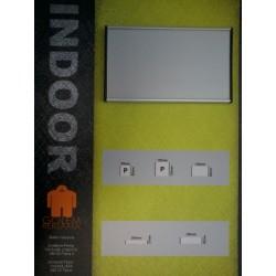 Indoor 125x125mm