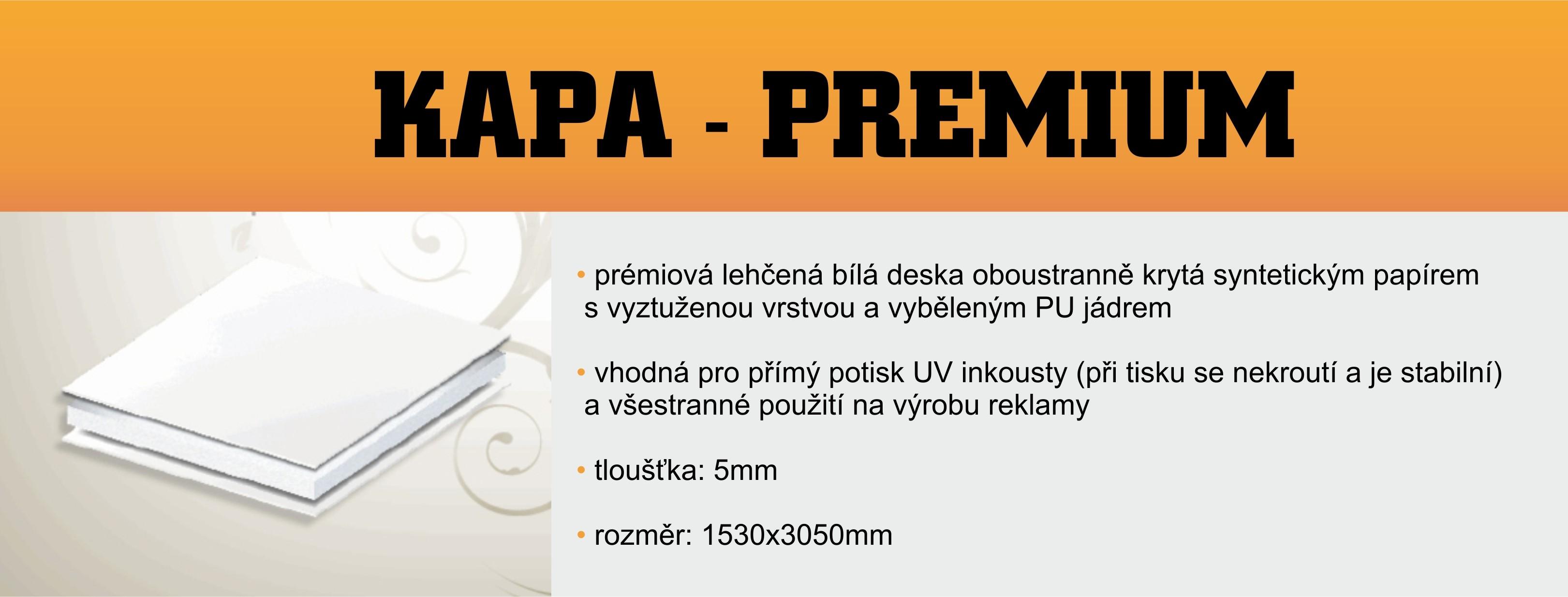 Kapa-Premium, 1530x3050 mm, tl.:5mm