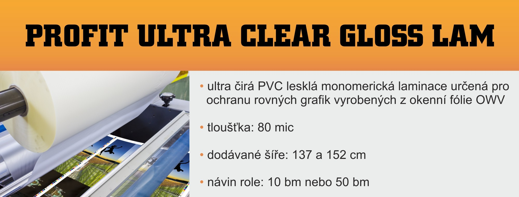 PROFIT ULTRA CLEAR GLOSS LAM