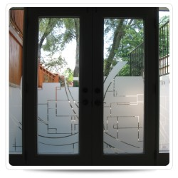 FROST ETCHED GLASS