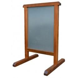 Dřevěný reklamní stojan Téčko