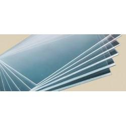 Perspex® litý - transparentní, červená, 1000x2030 mm, tl.3mm,