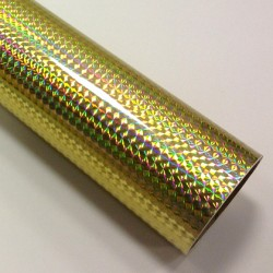 Fantasy 1/4 mosaic gold PRIME, zlatá fólie