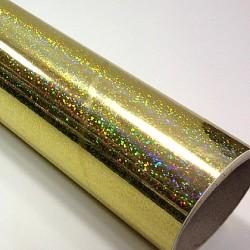 Fantasy sequins gold PRIME, š.61cm