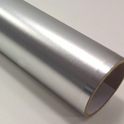 Polychrome texture satin etched silver PRIME š. 61cm