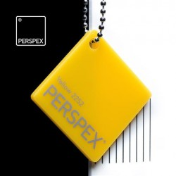 Perspex GS - opál, žlutá 2252, 1000x2030 mm, tl.3mm,