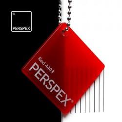Perspex® litý - opál, červená 4403, 1000x2030 mm, tl.3mm,