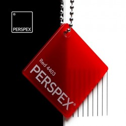 Perspex® litý - opál, červená 4403, 1520x2050 mm, tl.3mm,