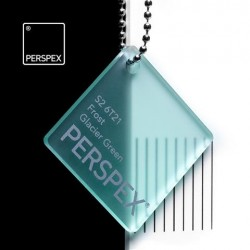 Perspex GS - frost, glacier green S2-6T21, 152x203cm, tl.5mm