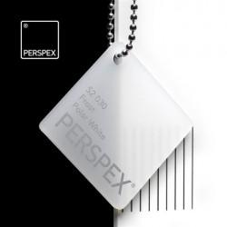 Perspex GS - frost, polar white S2-030, 203x305cm, tl.3mm