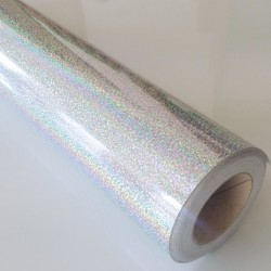 Fantasy sequins silver 10, š.61cm