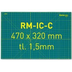 Zelená podložka RM-IC-C, 470 x 320 x 1,5mm