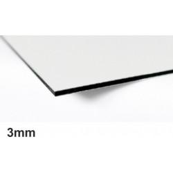 G-BOND 125x255cm tl.3mm,bílá (lesk/ mat) - síla Al plechu 0,21 mm