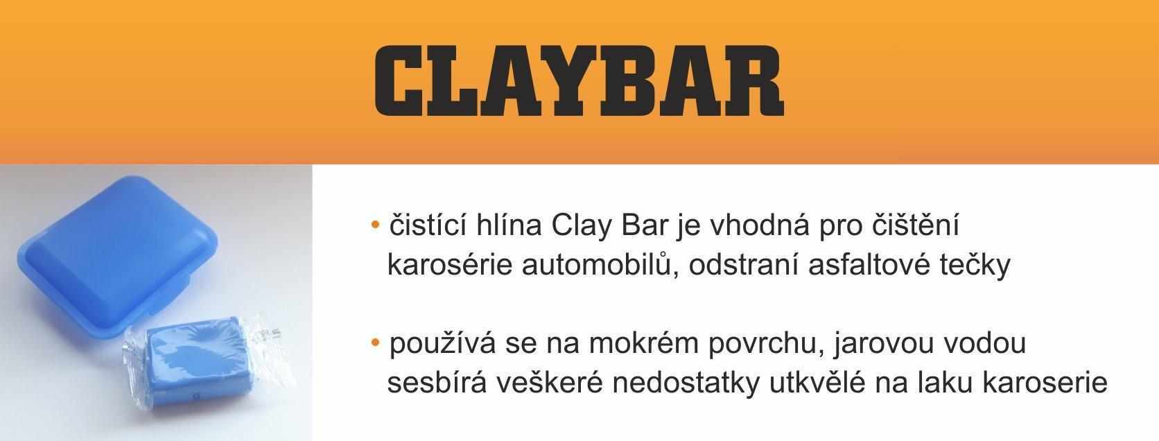čistící hlína ClayBar